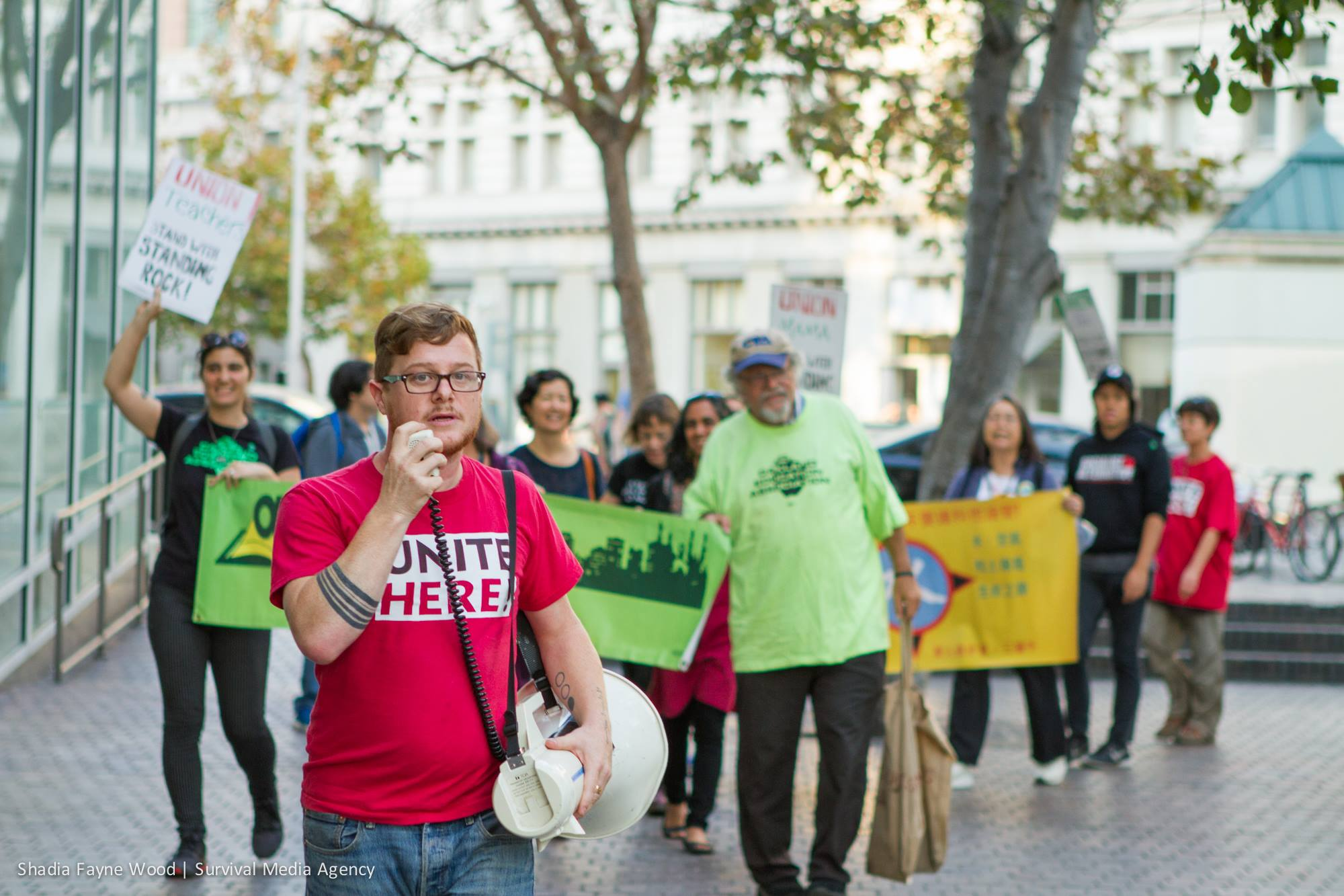 Union Workers Block the Dirty Money Pipeline